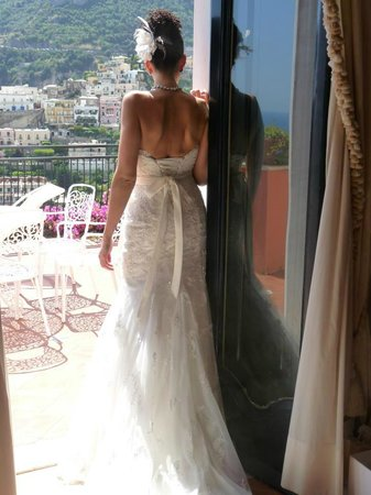 Villa dei Fisici : The backdrop for every photo tatken was spectacular.