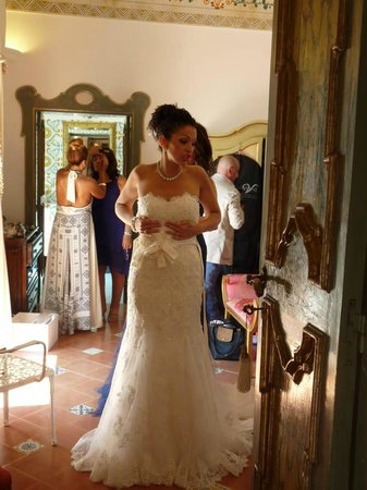Villa dei Fisici: the Brides suite was beautiful