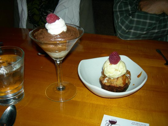 2 Taste Food and Wine Bar: Our desserts