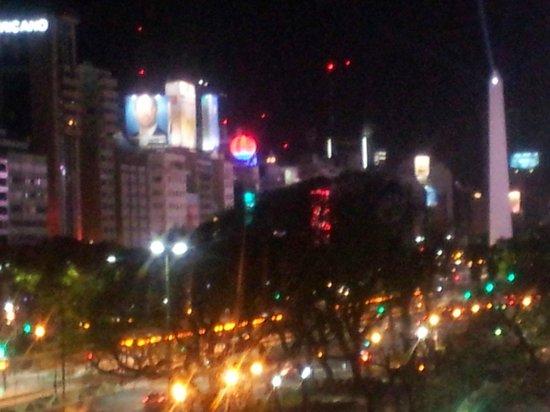 Hotel Presidente: vista desde la ventana de la habitación
