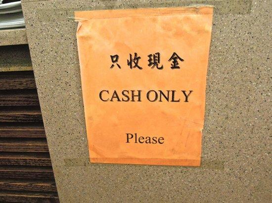Mei Li Wah Bakery Cash Only