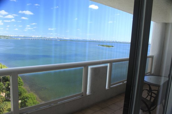Doubletree by Hilton Grand Hotel Biscayne Bay: amazing view