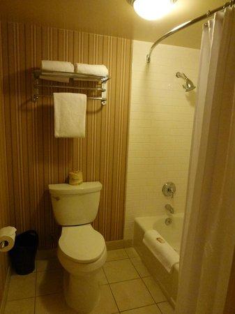 Sheraton Fairplex Hotel & Conference Center: Seperate Tub/Toilet area of Bathroom