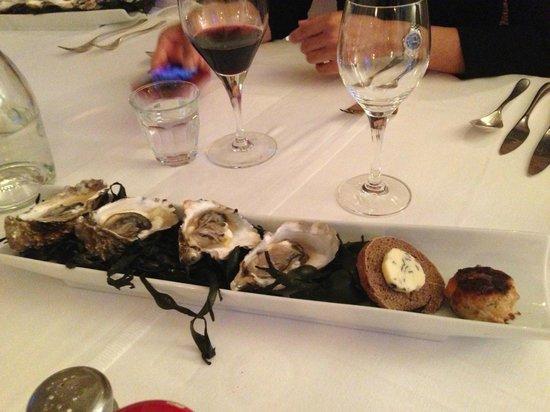 La Poudette: Oysters