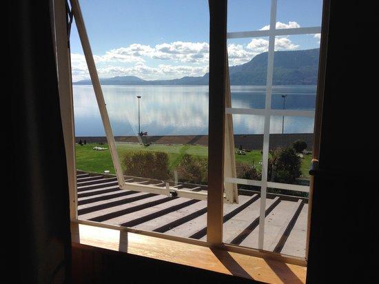 Gran Hotel Pucon: vista desde la habitación