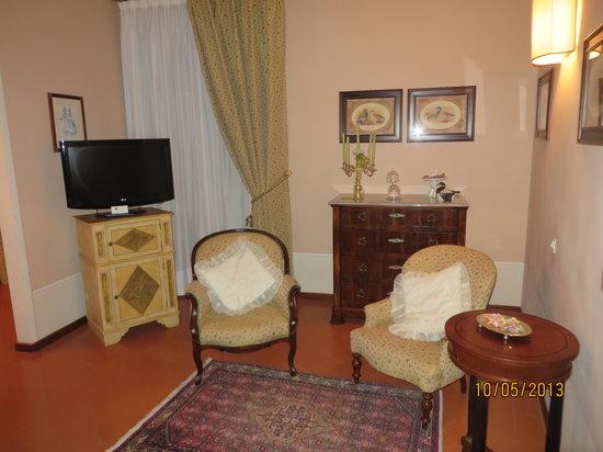 Villa Marsili: Sitting area