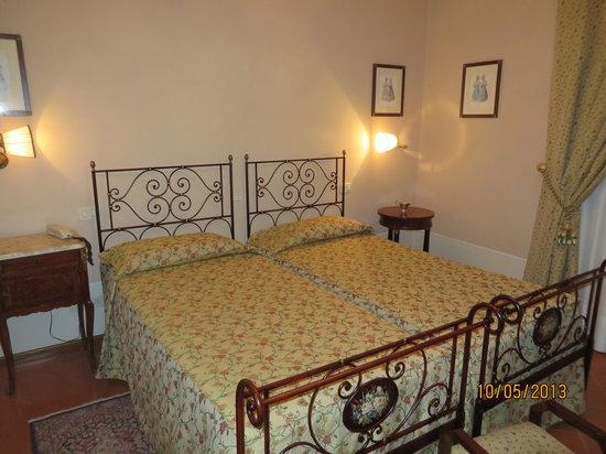 Villa Marsili: bedroom