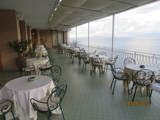 Hotel Belair: Dining area