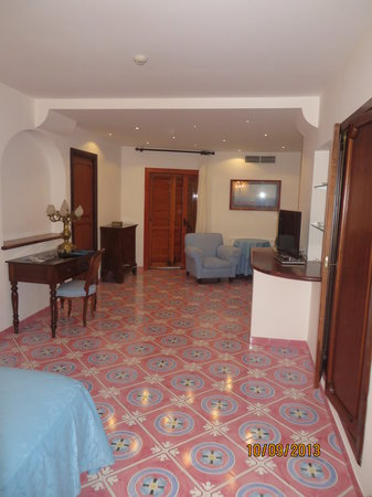 Hotel Belair: Sitting area