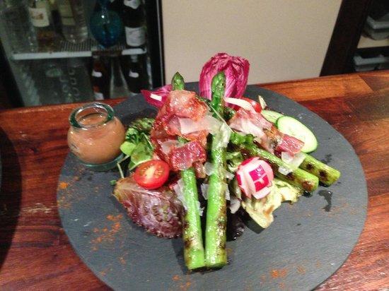 Grim'O : Salade d asperges