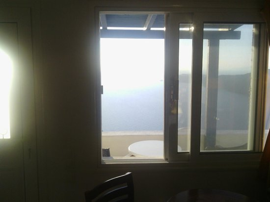Gizis Exclusive: Window view from within our room