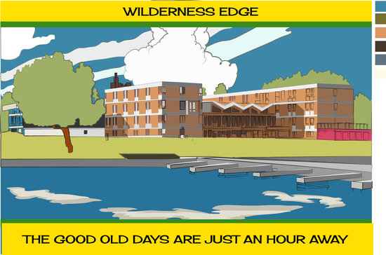 Wilderness Edge - Retreat & Conference Centre: Artists drawing