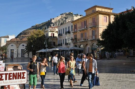 Pension Omorfi Poli: Old Town Nafplio