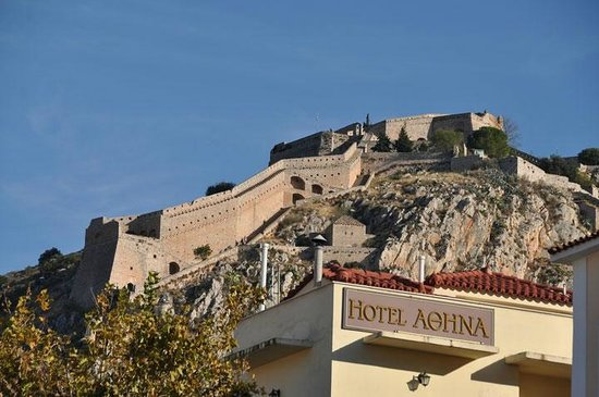 Pension Omorfi Poli: Nafplio Castle