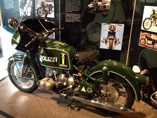 The Saratoga Automobile Museum: munich polizei cycle