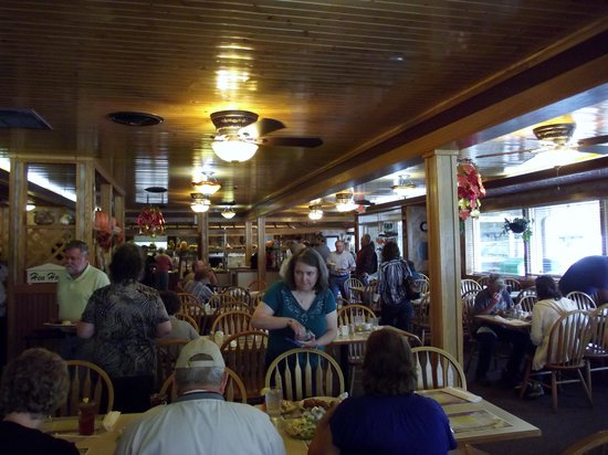 Granny's Kitchen Restaurant: Interior
