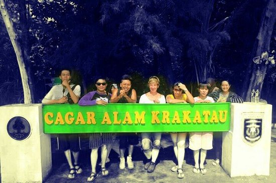 Anak Krakatau Nature Reserve : lived by the Mount, loved by the Sea! :D