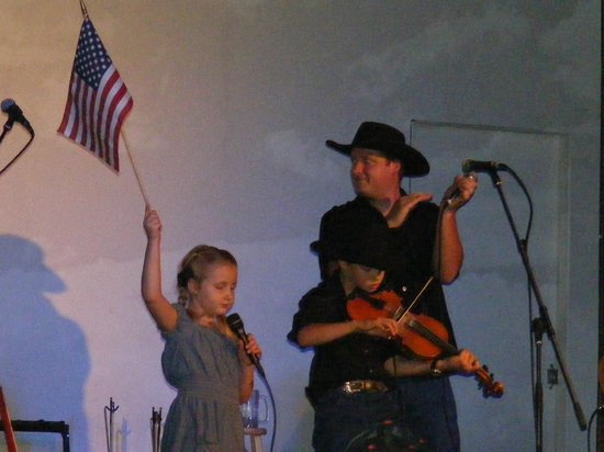 The Cody Cattle Company: the two youngest - she is like 5 and he is around 6 or 7
