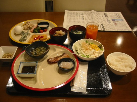 Hotel Nets Hakodate : 大満足の朝食