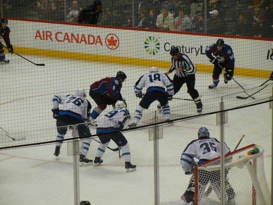 Pepsi Center: The game -- Colorado Avalanche vs. Winnipeg Jets