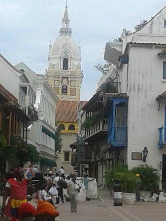 Muraille : Vista de la cúpula de la catedral