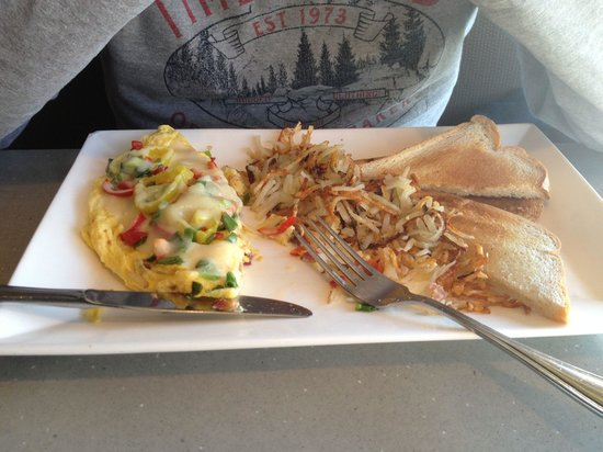 Tally's Silver Spoon: Omelette of the day