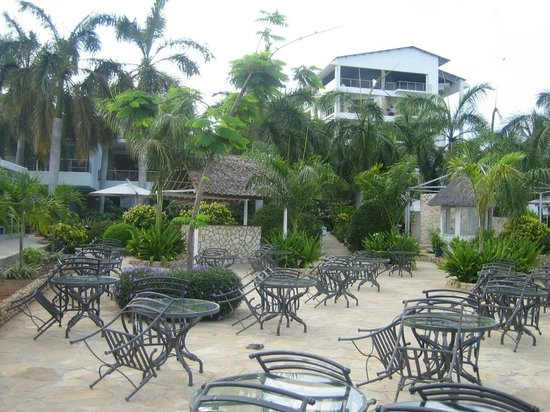 Best Western Coral Beach Hotel: View from the garden