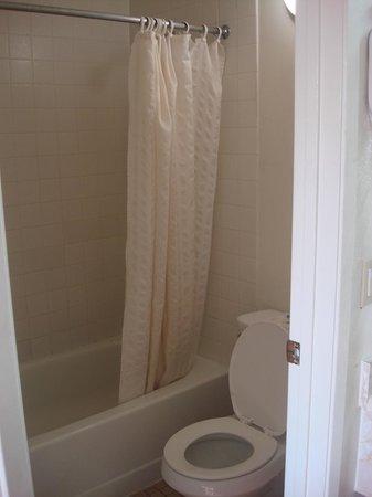 Vagabond Inn Bakersfield South : Clean bathroom