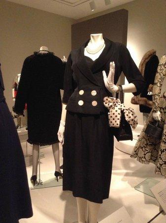 Mint Museum Randolph: Dior suit