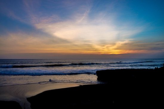 eHomestay Canggu : Beach at the end of the road