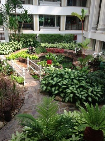 Dusit Thani Pattaya: Территория отеля