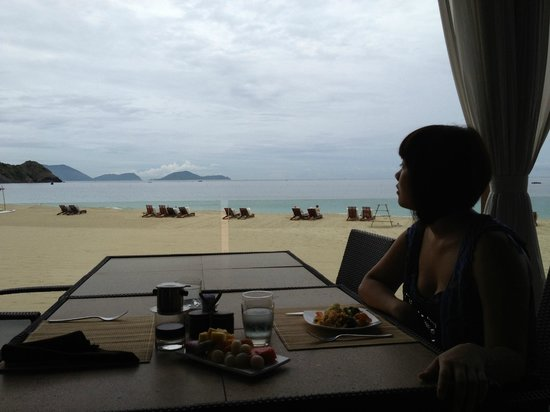 Mia Resort Nha Trang: View from the restaurant
