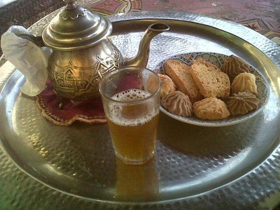 Riad Andalla: l'accueil traditionnel