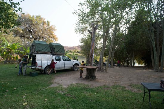 Kunene River Lodge: The best camp area in Namibia
