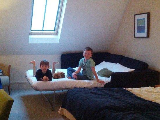 Aldwark Manor Golf & Spa Hotel : Happy kids