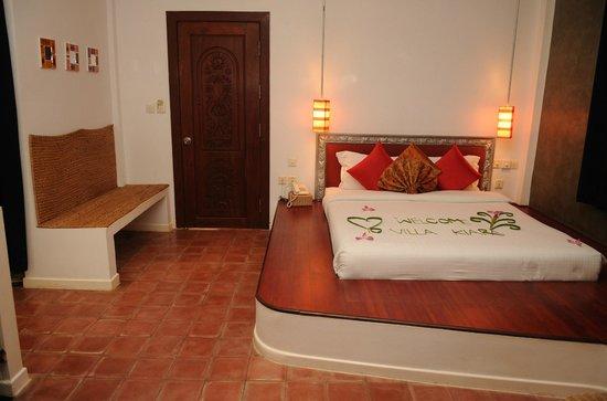Suorkear Villa Resort: Deluxe king bed