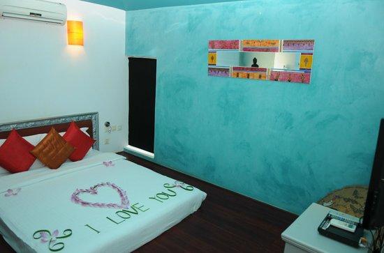 Suorkear Villa Resort: Junior suite bed room