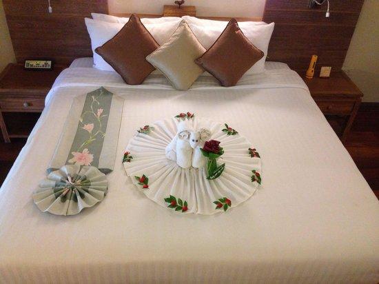 Khaolak Paradise Resort: Empfang im Zimmer