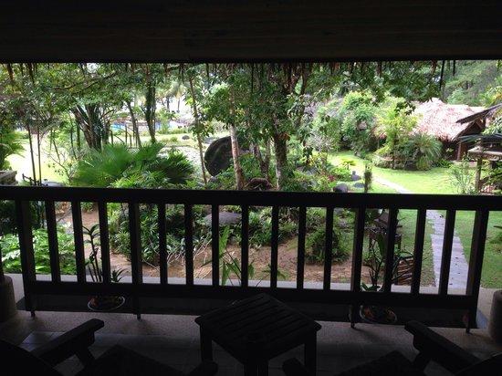 Khaolak Paradise Resort: Aussicht aus dem zimmer 404