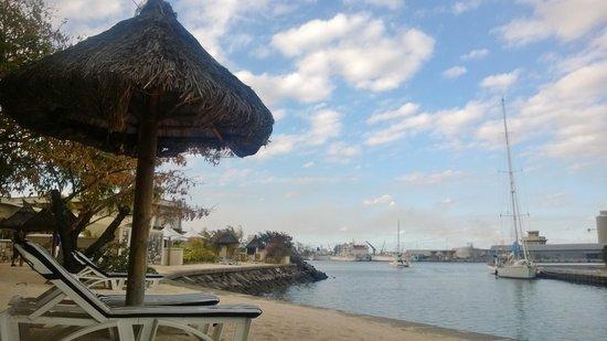 Le Suffren Hotel & Marina: Artificial Beach