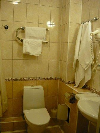Polustrovo Hotel : ванная комната