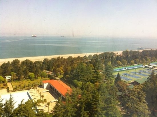 Sheraton Batumi Hotel : Вид из окна