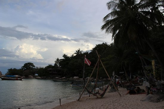 View Point Resort: Local Beach and Bar