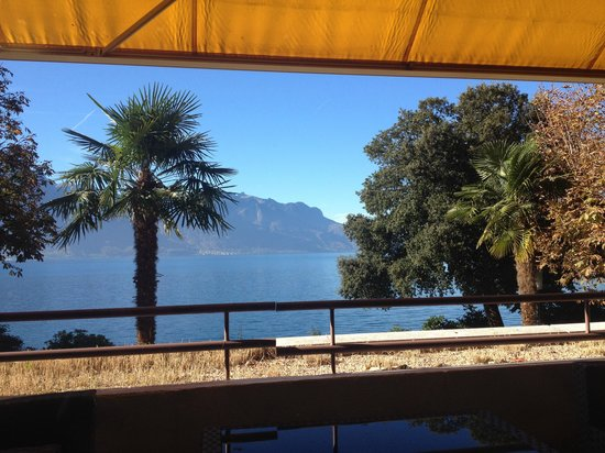 Hotel Royal Plaza Montreux : The view