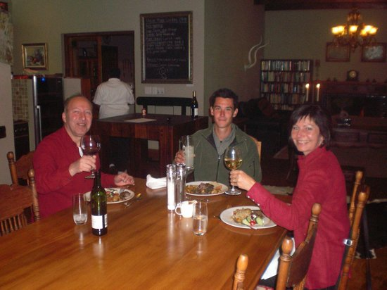 Madi-Madi Karoo Safari Lodge: Dinner at the Main Lodge