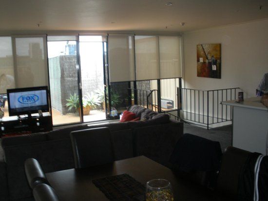 BEST WESTERN Riverside Apartments : Lounge area of the Penthouse