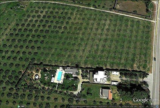 Villa Sogno Charme e Relax Selinunte : VISTA AEREA