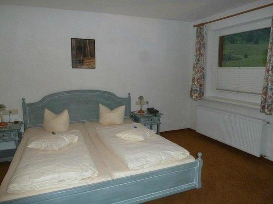 Hotel Rotlechhof: Bett
