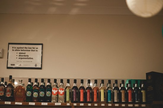 Great Northern Distillery: A selection of spritis