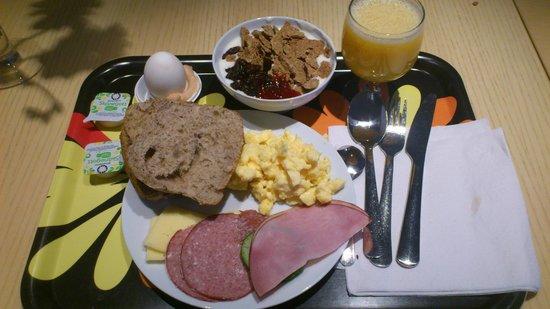 IKEA Hotell: Frukost